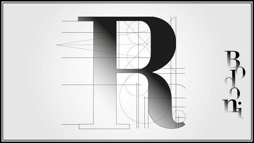 bodoni comunicazione tipografica