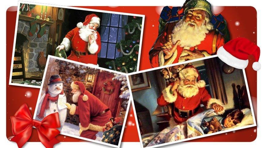 Coca Cola Babbo Natale.Rosso Babbo Natale O Rosso Coca Cola