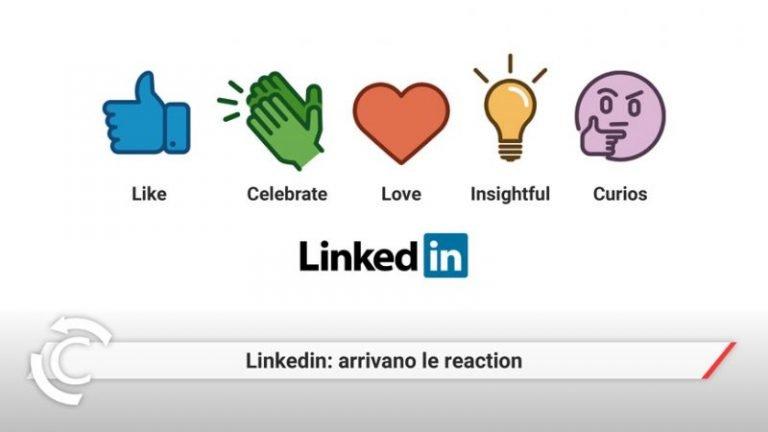 reaction linkedin