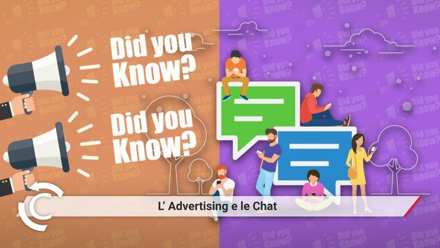 fare advertising su whatsapp e su messenger