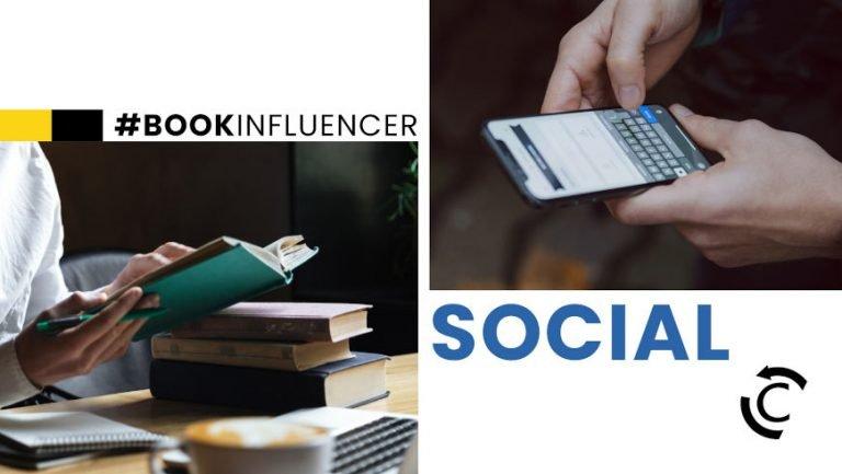 book influencer e promozione dell'editoria