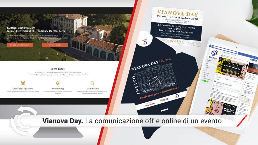 comunicazione offline online evento