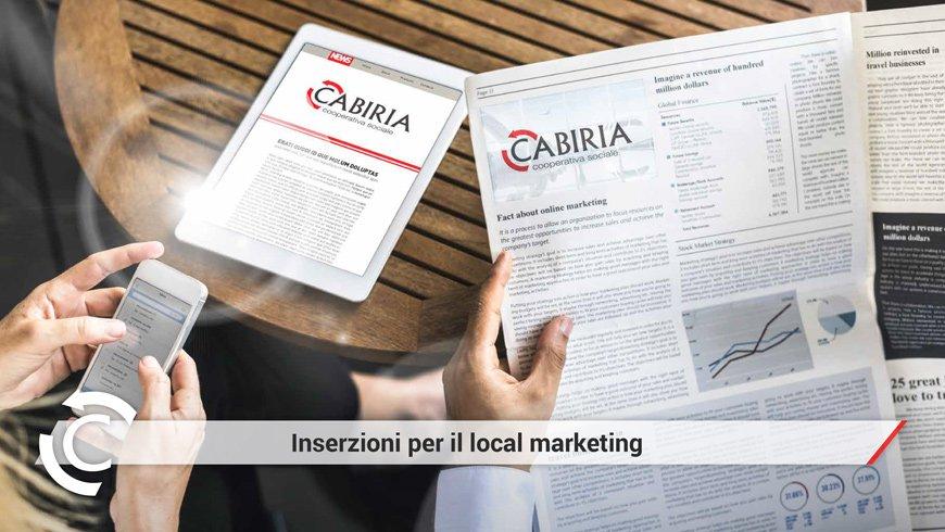 Annunci pubblicitari per il Local Marketing