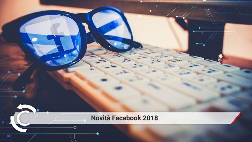 novità facebook 2018