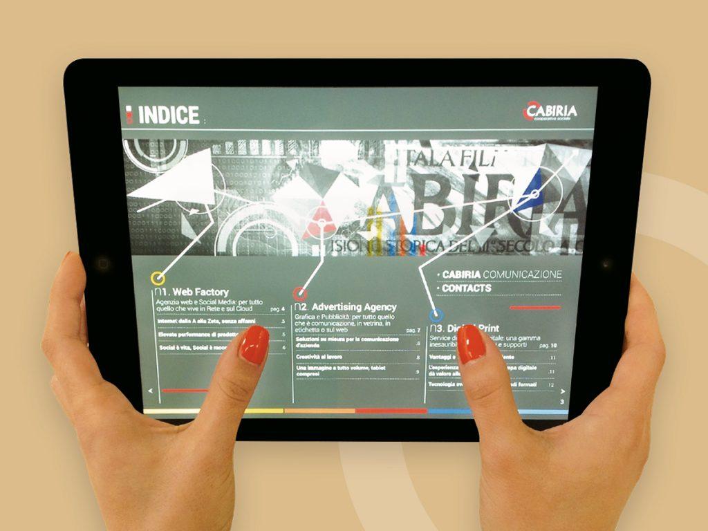 pdf interattivo sfogliabile e navigabile