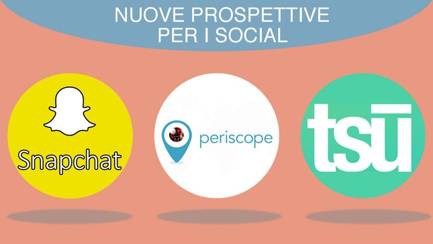 Nuovi social network cabiria comunicazione