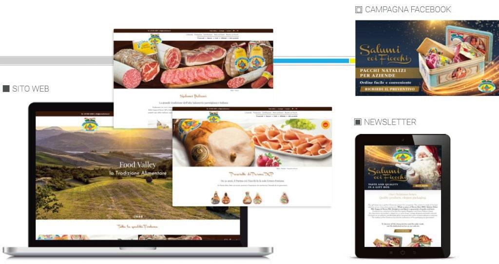 sito web fontana ermes web agency cabiria parma